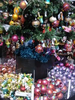 Le Marché de Noël à Paris La Défense