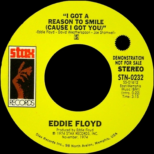 "Eddie Floyd : Album "" Soul Street "" Stax Records STS-5152 [ US ]"