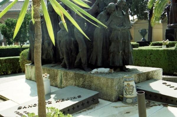 4-Séville, tombe du torero Ignacio Sánchez Mejías