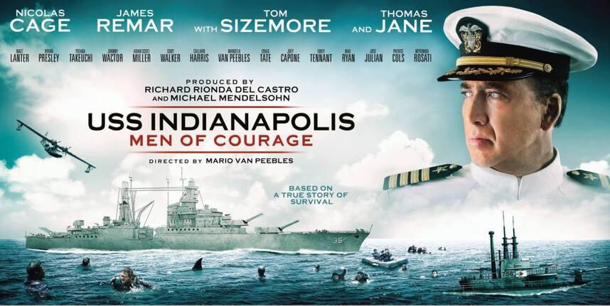 Résultats de recherche d'images pour «uss indianapolis men of courage 2016»