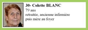 30- Colette BLANC