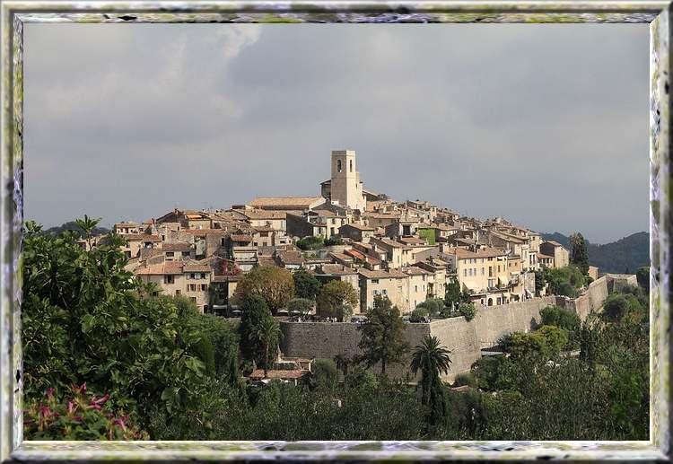 CÔTE D'AZUR : Villes et villages - de Cannes au pays de Vence -