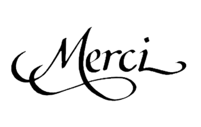 Wordart merci