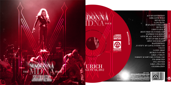 The MDNA Tour - Full Audio Zurich