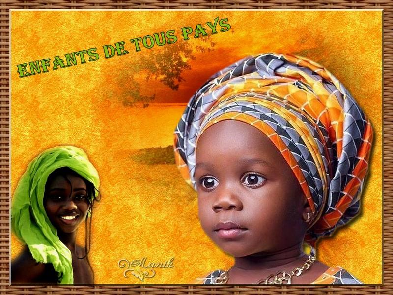 Enfants de tous pays défi pour Marjolaine !