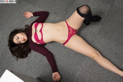 WEB Gravure : ( [UNO x Girlz HIGH!] - | 全部見たい? Gallery No.17 - Vol.05 : OL | Ryo Shinoda/篠田りょう )