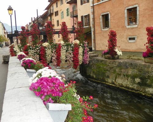 Annecy-le-Vieux, ville fleurie