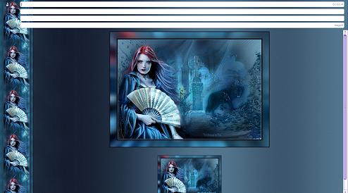 Papier Fantasy Gothique 05