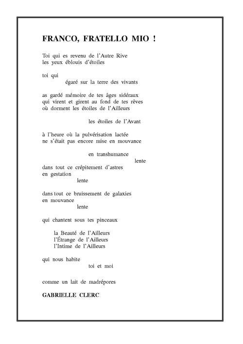 Des poètes écrivent...