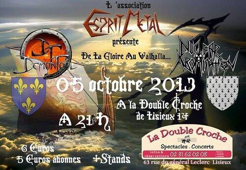 Concert Metal de Demontool et Nuclear Abomination samedi 5 octobre 2013 à Lisieux (14)