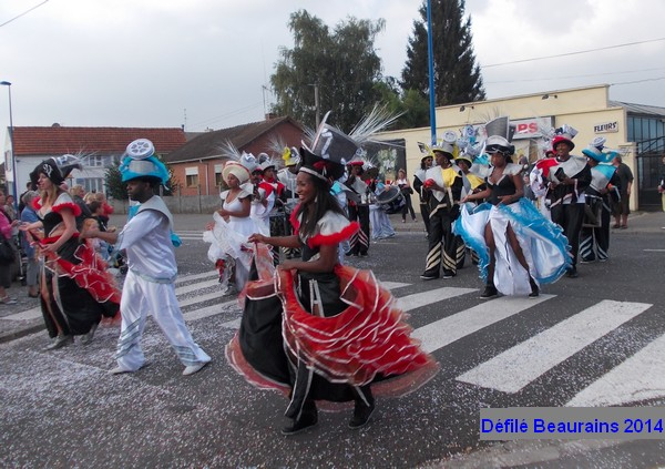 le défilé carnavalesque de Beaurains en images
