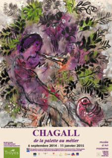CHAGALL EXHIBITION IN TROYES