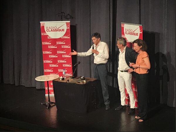Franck Ferrand - et nous ! - au théâtre Montansier de Versailles