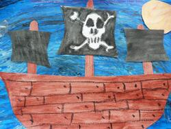 Des pirates en arts
