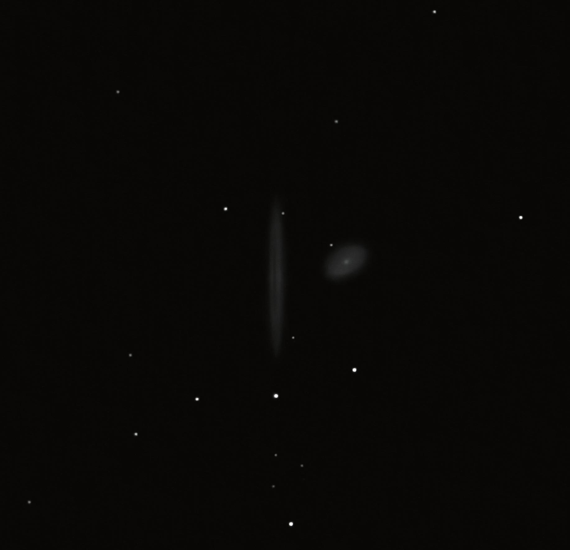ngc4298 - 4302 galaxies