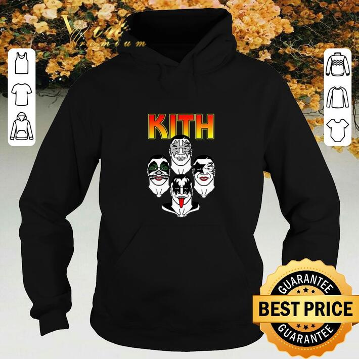 Premium Kiss Kith Rock Rockin shirt