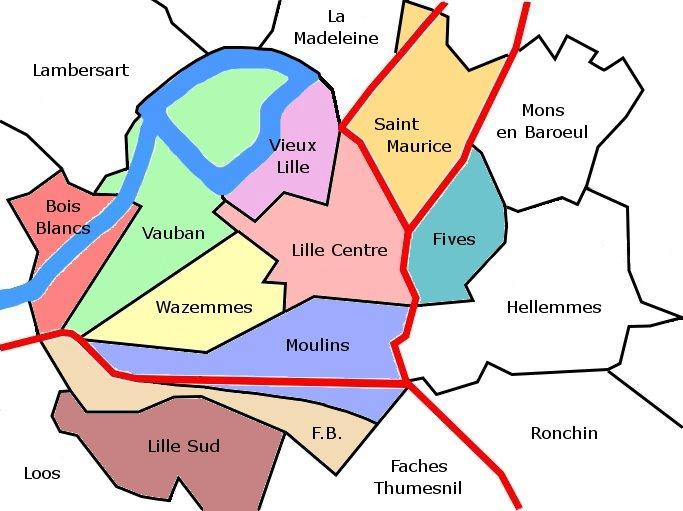 Où vivre à Lille ? Quartier Vauban, entre verdure et universités