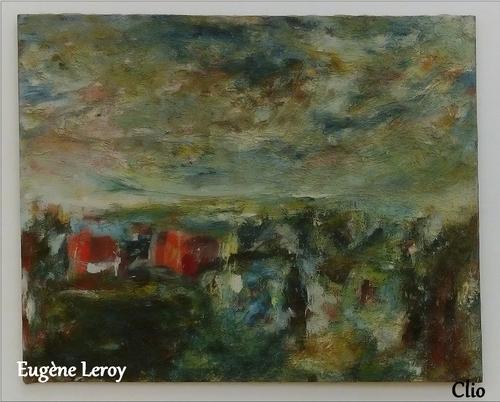 * Le peintre Eugène Leroy
