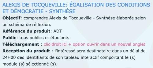 FICHE AUTEUR - ALEXIS DE TOCQUEVILLE