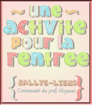 RALLYE LIENS : affiches de savoir à partir des cartes d'apprentissage