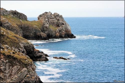 Photo de la pointe de Dinan à Camaret dans le Finistère