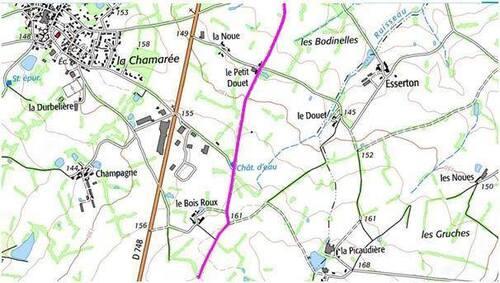 Où est la fosse commune de Saint-Aubin-du-Plain ?