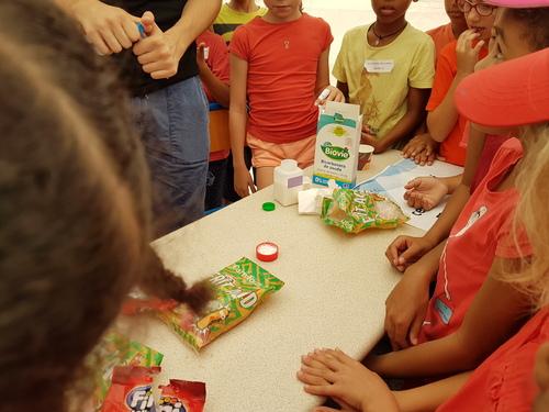 La fête de la science par les élèves du CE2 b