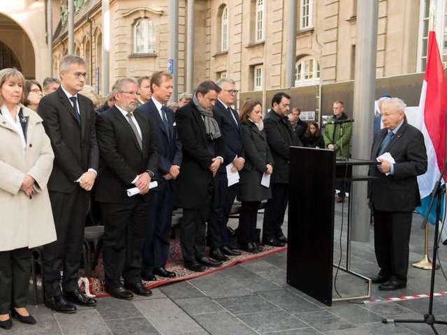 Commémoration 75e anniversaire du 1er convoi de la déportation des juifs du Luxembourg