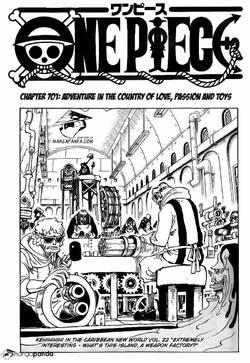 One Piece chapitre 701 en Version Anglaise