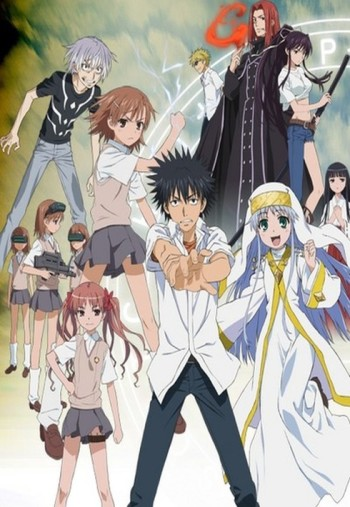 Toaru Majutsu no Index انمي