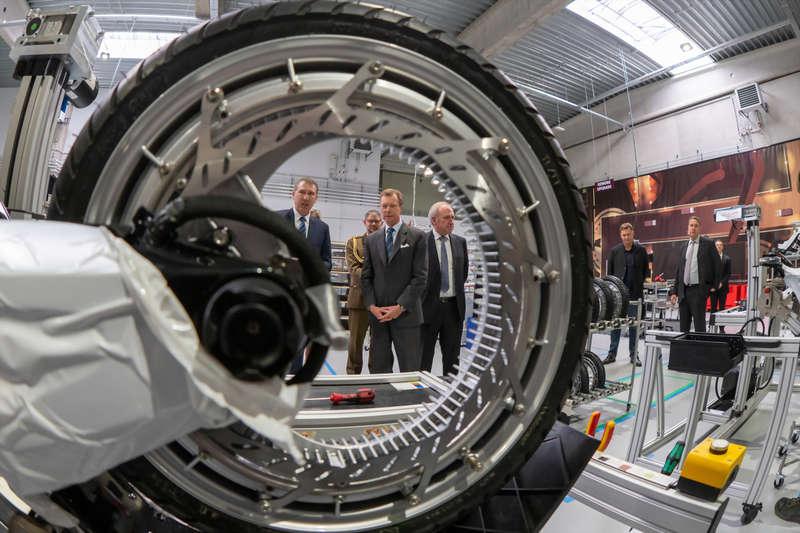 Visite de l'usine de l'entreprise « Ujet »