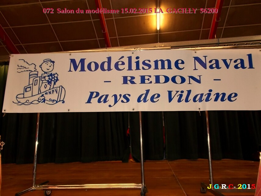 ANIMATION  LA GACILLY  56200    SALON DU MODELISME  01/06/2015
