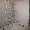 Electricité et plomberie du local technique