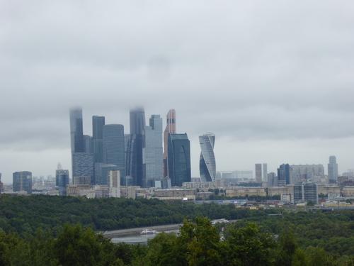 Voyage Transsibérien 2017, le 09/07, 2ème jour, Moscou , cité universitaire et vue panoramique