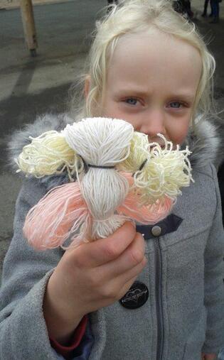 Poupées de laine
