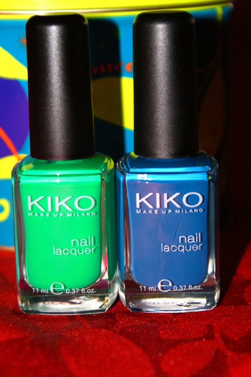 Swatches Kiko 383 + 343