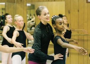 dance ballet class teatcher ballet class