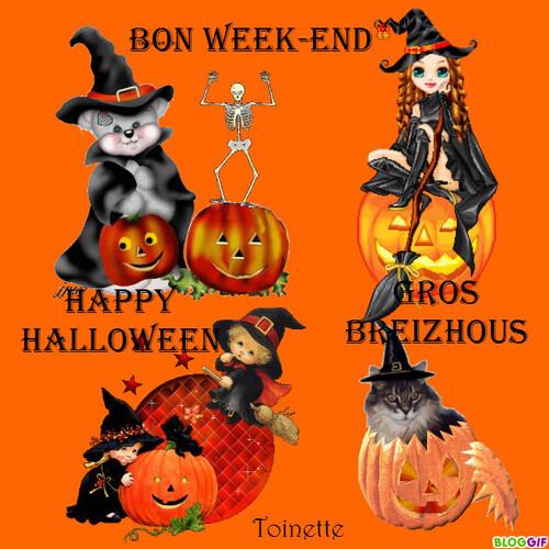 Imagerie d'Halloween
