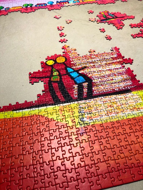 Capucine reine des puzzles