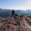 Au sommet du pic de Gabedaille (2258 m), Ossau, Balaïtous et Collarada