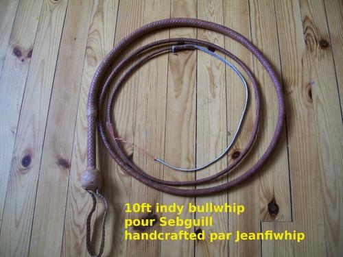 10ft indy bullwhip