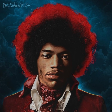 JIMI HENDRIX - Les détails du nouvel album Both Sides Of The Sky