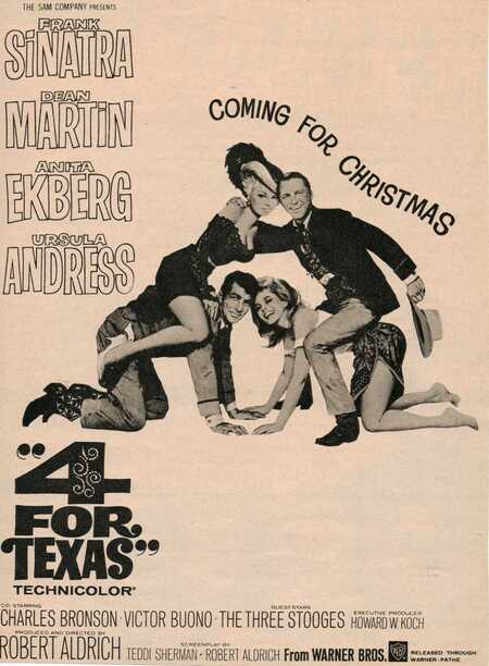 4 for texas box office usa 1963