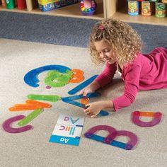 Aider les élèves à mémoriser le nom des lettres