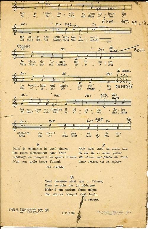 Musique Française - Seul ce Soir