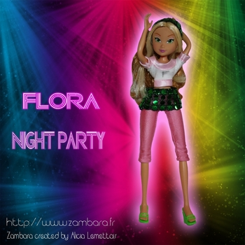 promotion flora night party