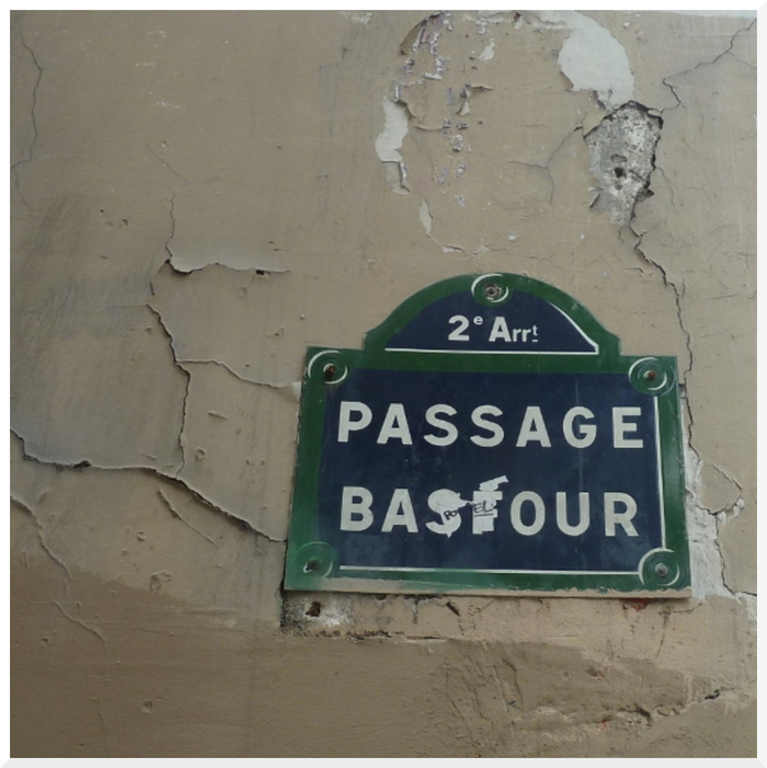 Passage Basfour. Paris