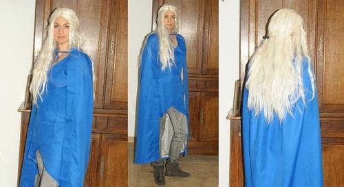 La perruque Daenerys la moins chère du marché