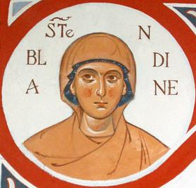 Image illustrative de l'article Blandine de Lyon