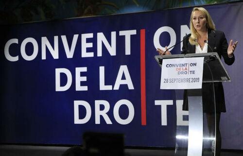 Marion Maréchal - Discours à la Convention de la Droite ce 28 sept 2019